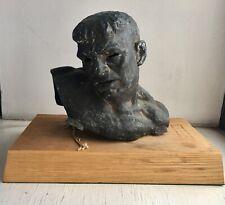 Joseph Joe Brown American Large Bronze Boxer Boxing Sculpture PAFA NAD Princeton