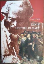 """GIANNI FRESU """"Lenin lettore di Marx """" libro"""