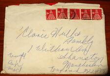 ELLA FITZGERALD HANDWRITTEN ENVELOPE & CHRISTMAS CARD '69 UACC REGISTERED DEALER