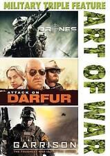 Art of War: Drones/Attack on Darfur/Garrison (DVD, 2015)