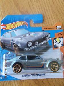 Hot Wheels Custom Ford Maverick short card