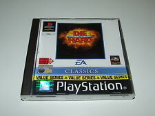 DIE HARD TRILOGY by EA for playstation PS1 (PAL) GOOD COMPLETE CONDITION!
