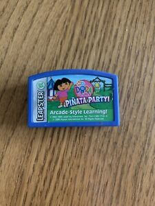 Leap Frog Leapster Dora the Explorer: Pinata Party! ~ Cartridge Only