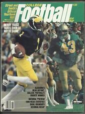 Street & Smith 1981 Football Bob Crable Notre Dame Anthony Carter Michigan