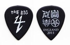 Metallica Slayer Big 4 Black Ultex Guitar Pick England - 2011 Tour
