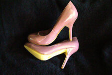 "SEXY DELICIOUS ' SOFT PURPLE'  PATENT BABY DOLL 4"" STILETTO HEEL SHOES  7  NIB"