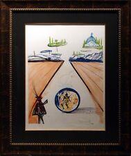 Salvador Dali Intra Uterine Paradisiac Locomotion Authentic Art Hand Signed OBO