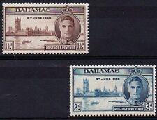 Bahamas 1946 Victory MNH set