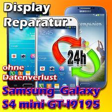 24 Stunden Display Reparatur Samsung Galaxy S4 Mini Touch Glas Reparatur Schwarz
