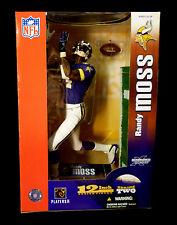 "McFarlane Sports NFL Football 12"" Randy Moss Series 2 Action Figure Vikings New"