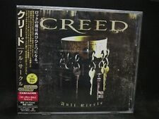 CREED Full Circle  JAPAN CD (ENHANCED) Alter Bridge Tremonti Art Of Anarchy