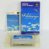 PILOT WINGS Super Famicom Nintendo ccc sf