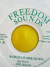 FREEDOM SOUNDS WORLD UPSIDE DOWN JOE HIGGS 45 / FIND LOVE AGAIN