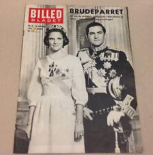 QUEEN ANNE-MARIE GREECE WEDDING KING CONSTANTINE II Magazine Billed-Bladet 1964