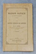 Trévédy M.  La MAISON NATALE Du Docteur Laënnec bretagne finistère 1881