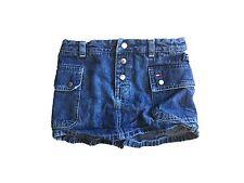 LKN TOMMY HILFIGER Denim Cargo Skort Shorts Girls 6