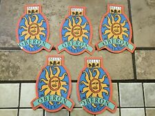 Lot Of 5 Bell's Oberon Ale  - Beer Coasters - Used