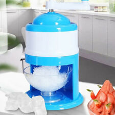 Ice Crusher Shaving Machines Mini Snow Manual Cone Makers Household Shaver xju