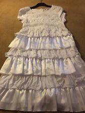 miss grant age 11/ 12 White Dress Beautiful