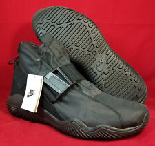 NIB NIKE Mens 12 KOMYUTER QS BLACK 916823 001 LIFESTYLE CASUAL URBAN SHOE $150