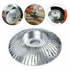 Export Wood Sanding Carving Shaping Disc For Angle Grinder Grinding Wheel Silver