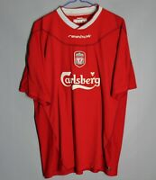 LIVERPOOL ENGLAND 2002/2003/2004 HOME FOOTBALL SHIRT JERSEY REEBOK SIZE L ADULT