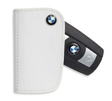 BMW Leather Key Case - White  80230439628