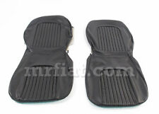 Alfa Romeo Spider Duetto 64-68 Black Seat Covers New