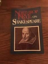 Northrop Frye on Shakespeare Reprint Edition