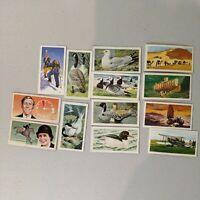 Lot Of 13 Brooke Bond Tea Cigarette Cards