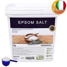 Nortembio Sale di Epsom 6 kg, Fonte Concentrata di Magnesio, Sale 6 kg (6 kg)