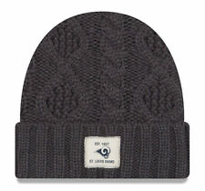 buy online 6c15d ba976 Era St Louis Rams Flurry Knit Beanie Adult One Size Grey Winter Los Angeles