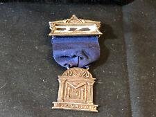 Collectible 1920 Free Mason Masonic Name Badge Pin Jewelry Missoula , Montana