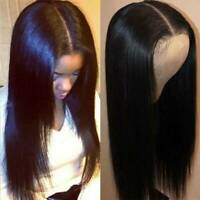 Silky Straight Lace Front Wigs Malaysian Remy Human Hair Silk Top Full Lace Wig