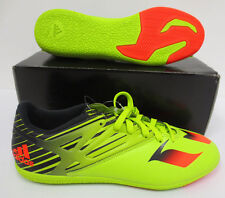 ADIDAS MESSI 15.3 IN MENS SOCCER CLEATS SIZE 9 RUNNING LIGHT NEW INDOOR S74691
