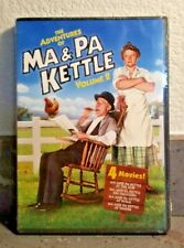 The Adventures Of Ma & Pa Kettle Volume 2  (DVD 4 Movies)  BRAND NEW  Sealed