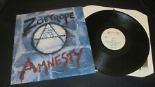 Zoetrope ‎– Amnesty 1st press ROADRUNNER 1985 LP vinyl