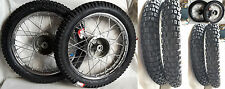 2 x Rad Reifen Räder Alu pass f. Simson S51 S50 KR51 Schwalbe 53 70 Enduro Cross