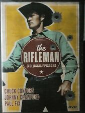 Chuck Conners The Rifleman DVD 3 Classic Episodes