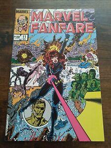 Marvel Fanfare (1983) #11 NM+ 9.6 1st Iron Maiden Black Widow movie MCU Disney +