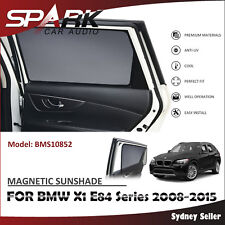 CT MAGNETIC CAR WINDOW SUN SHADE BLIND MESH REAR DOOR FOR BMW X1 E84 2008-2015