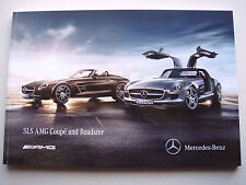 Mercedes . SLS AMG . Coupe and Roadster . October 2011 Sales Brochure