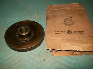 NOS MoPar1959 Plymouth Dodge Desoto Chrysler Imperial Crankshaft Damper 1859359