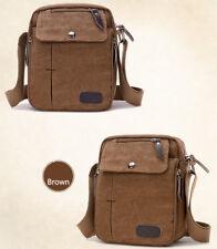 Crossbody Bag Canvas Men's Messenger Bag Shoulder Bag Casual Satchel Bag Bookbag