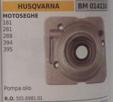 501698101 BOMBA DE ACEITE COMPLETO recambio MOTOSIERRA HUSQVARNA 181 281 288 394