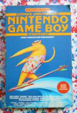 Ultimate Unauthorised Nintendo Game Boy Strategies // Vintage 1990 book