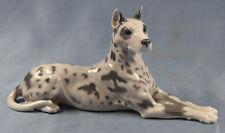 dogge great dane hundefigur hund Porzellanfigur Royal copenhagen figur