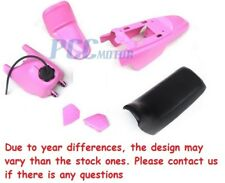 YAMAHA PW50 BODY PLASTIC SEAT GAS TANK KIT WITH SEAT PINK I PS48