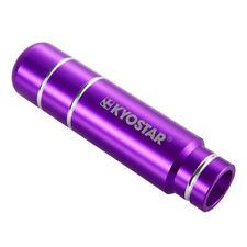 KYOSTAR Universal 13cm Purple Aluminum Gear Stick Shift Knob Shifter W/ Adapters