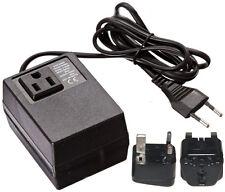 200 Watt Compact Voltage Converter Transformer + UK Ireland Plug - 220v to 110v